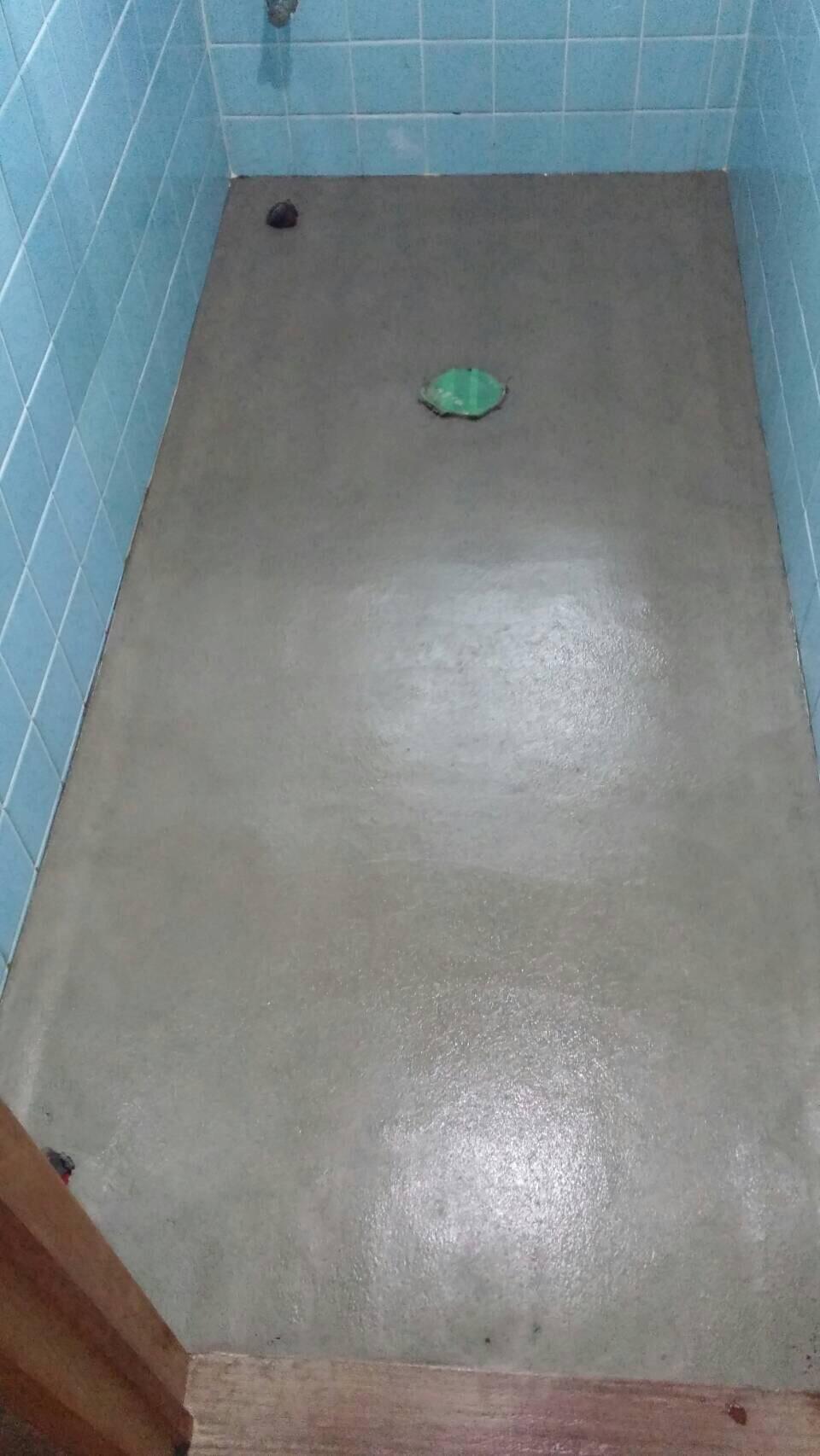 新居浜市 簡易水栓トイレへリフォーム 施工中