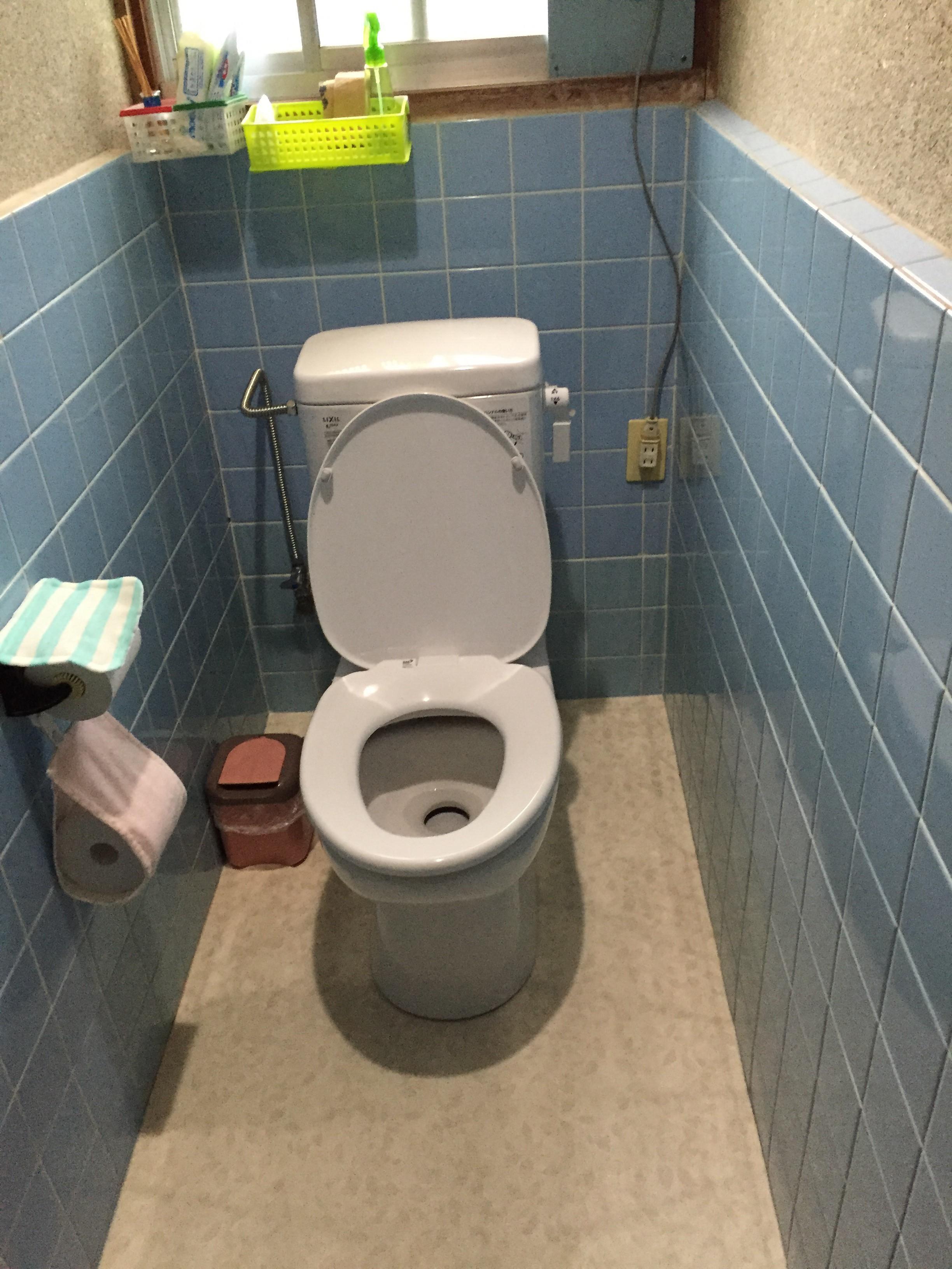 新居浜市 簡易水栓トイレへリフォーム 施工後