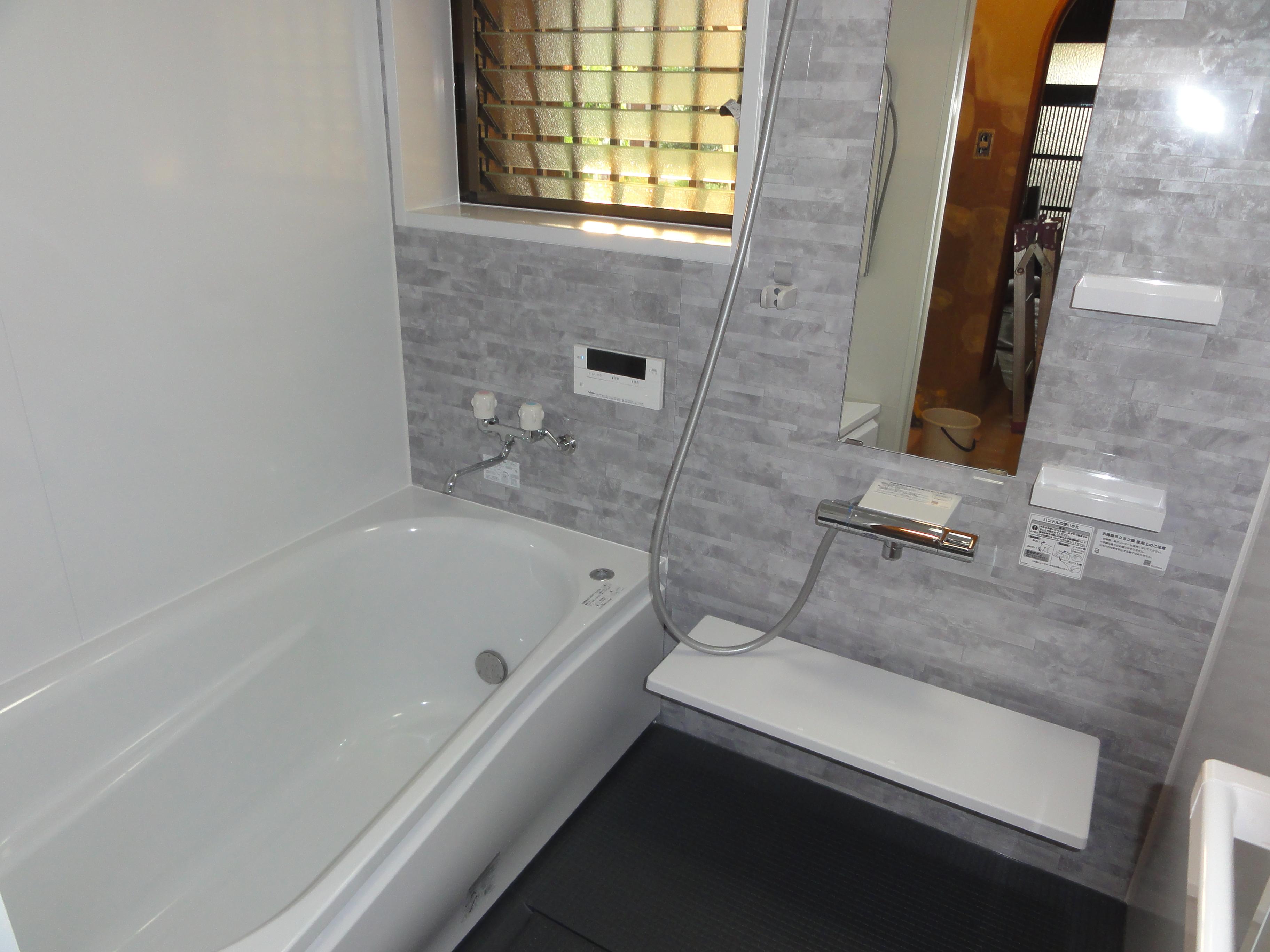 西条市 浴室リフォーム 施工後