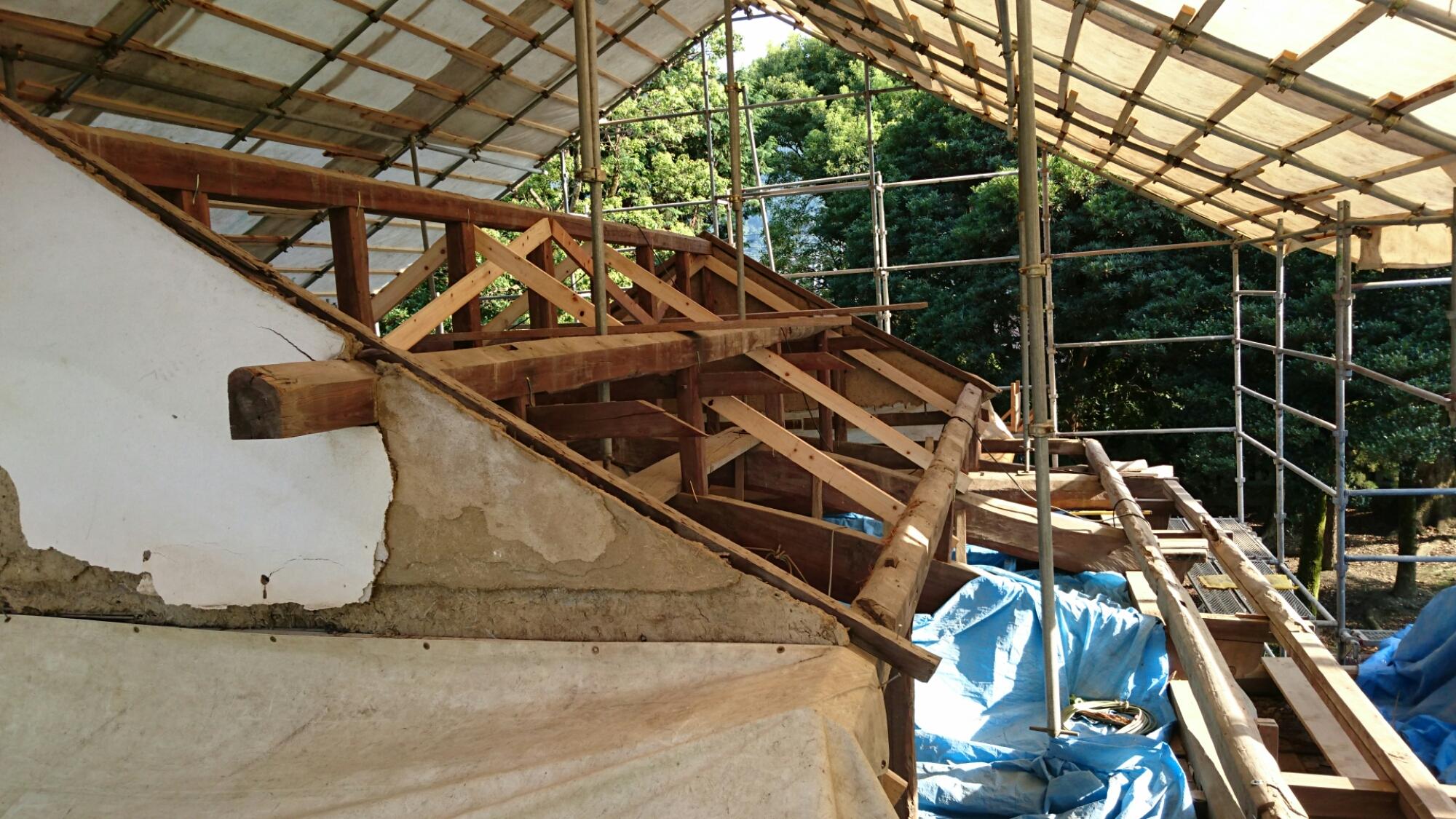 四国中央市 屋根の葺き替え