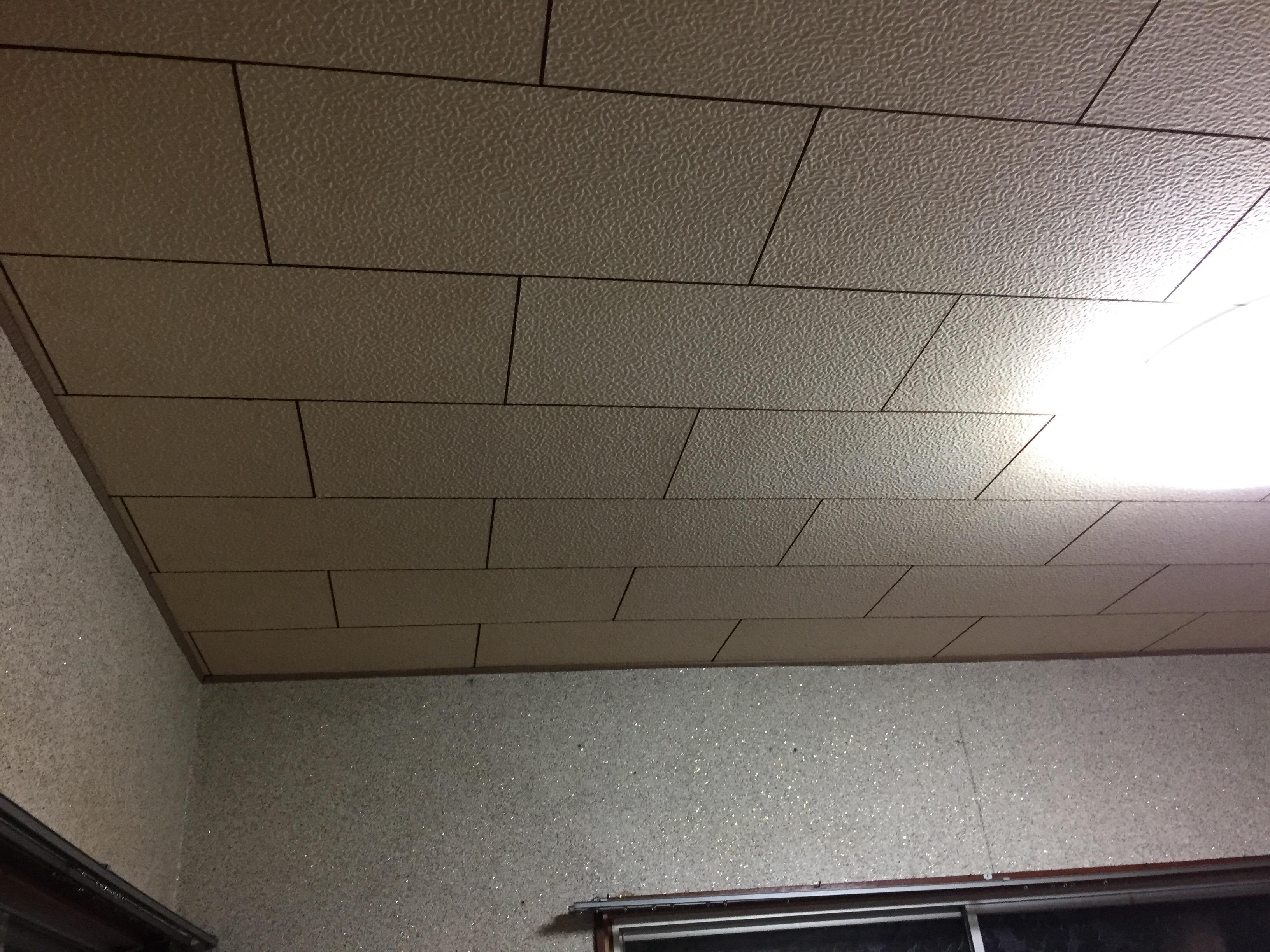 子供部屋へリフォーム 施工前 天井