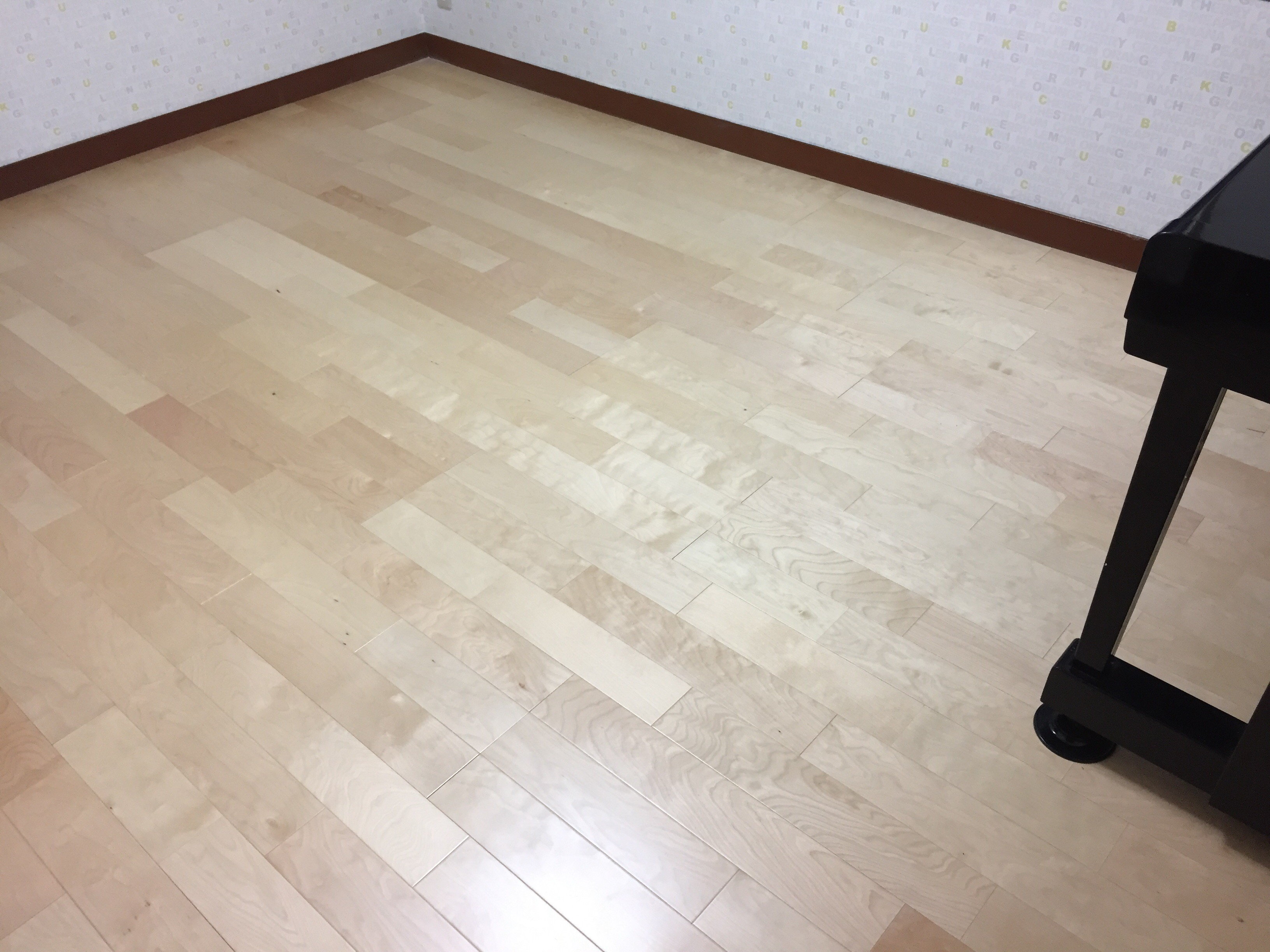 子供部屋へリフォーム 施工後 床