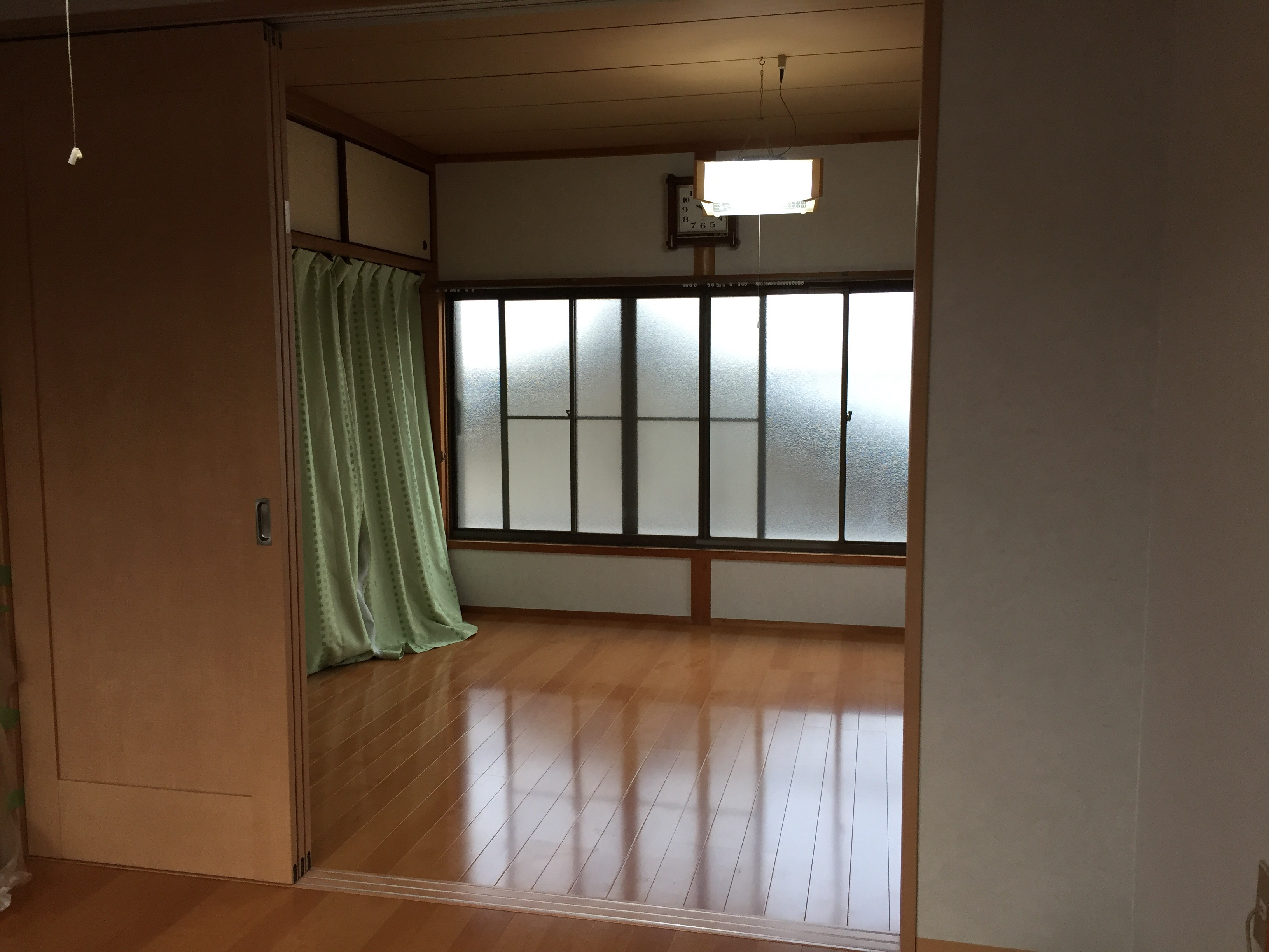西条市 和室から洋室へリフォーム 施工後