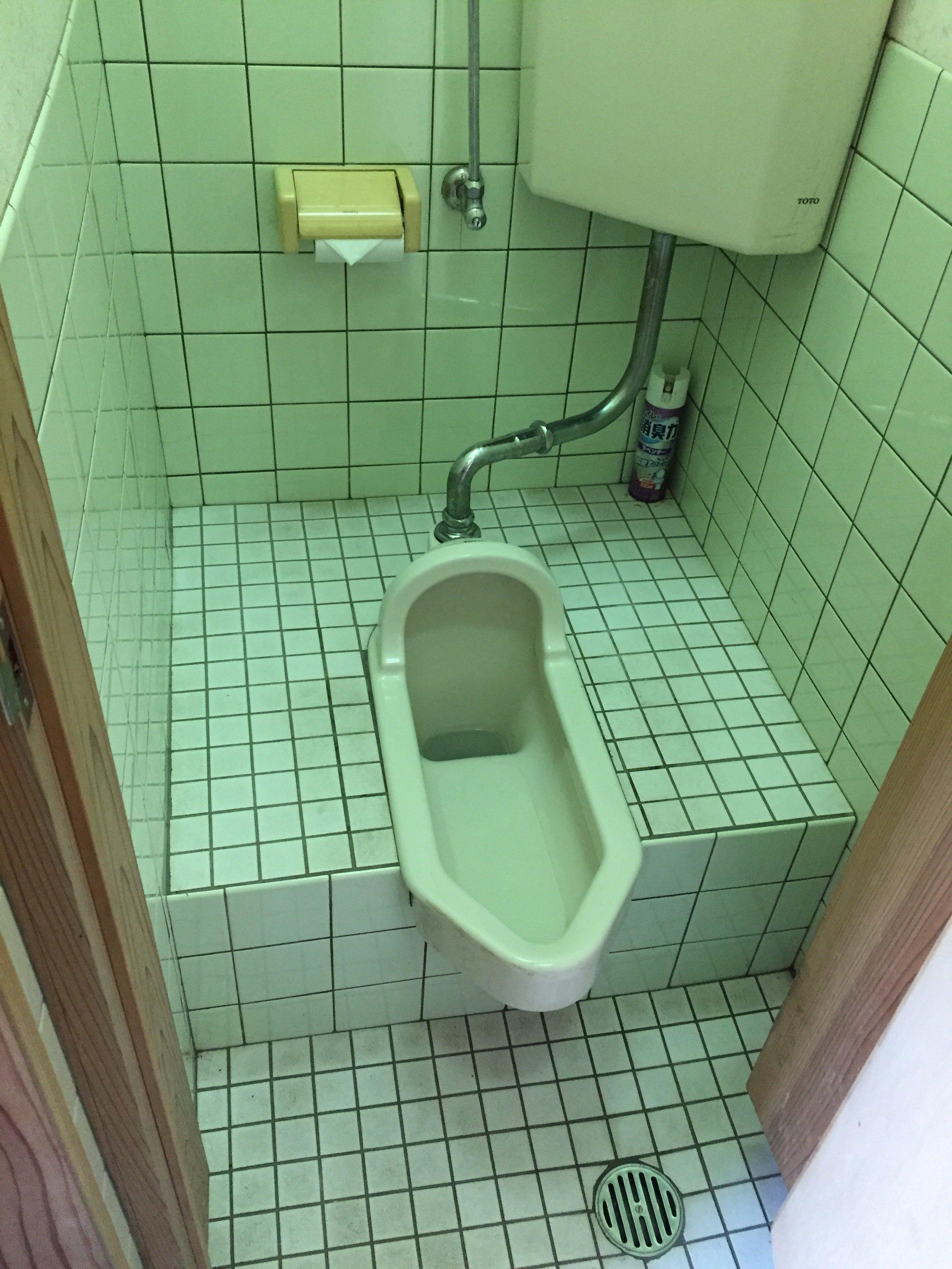 西条市 和式トイレから洋式トイレにリフォーム 施工前2