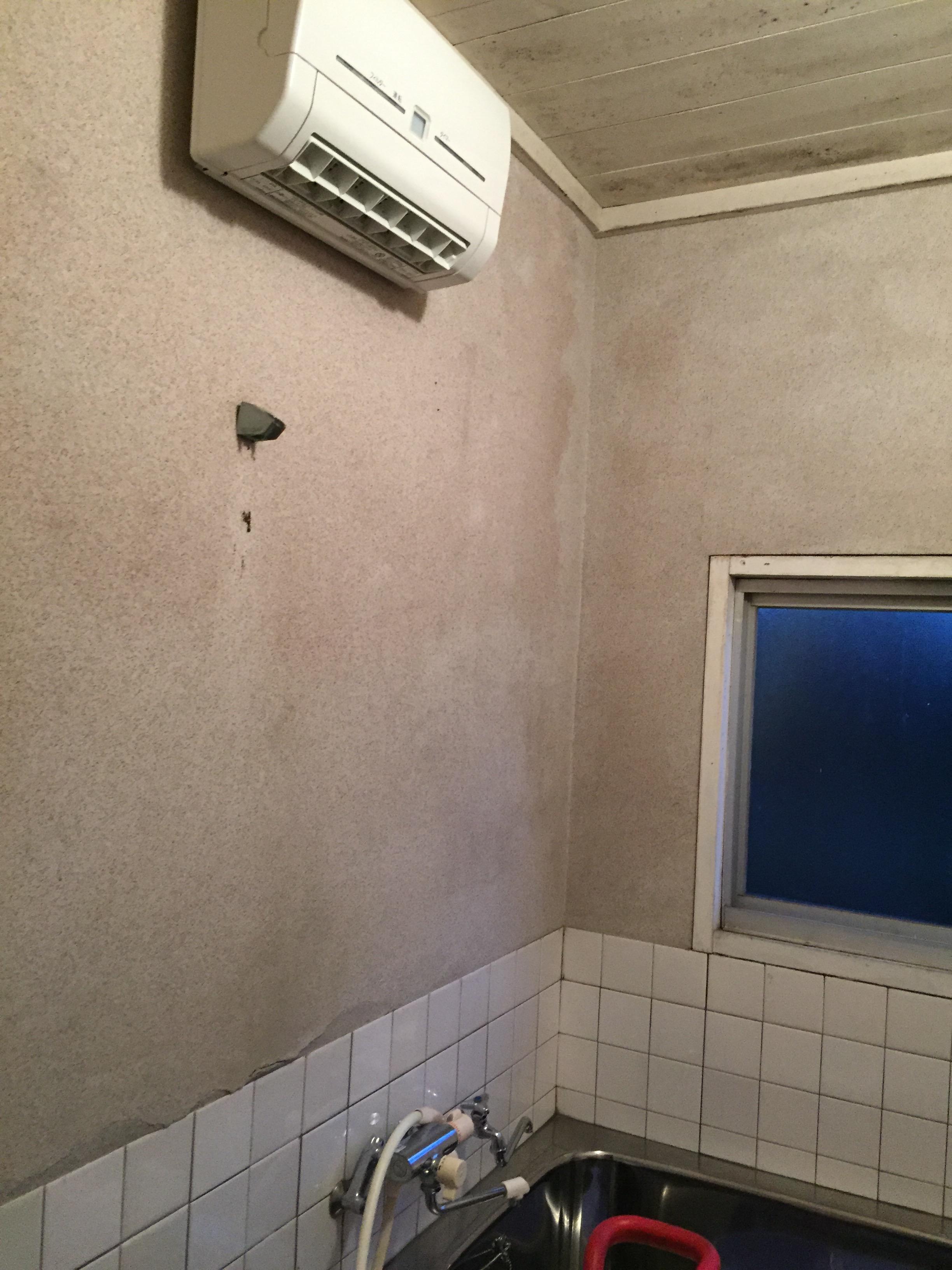 西条市 浴室暖房を設置リフォーム 施工後
