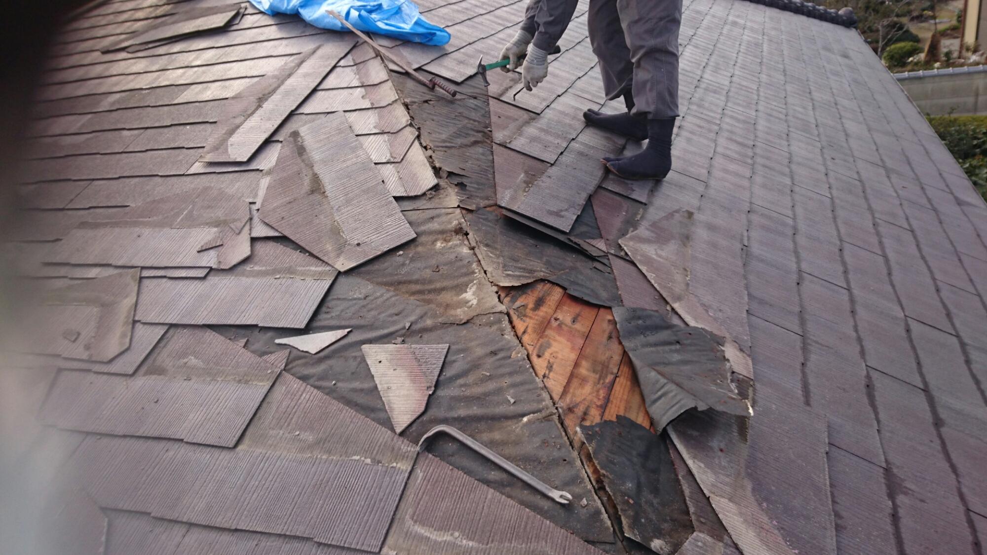 西条市 雨漏り修理
