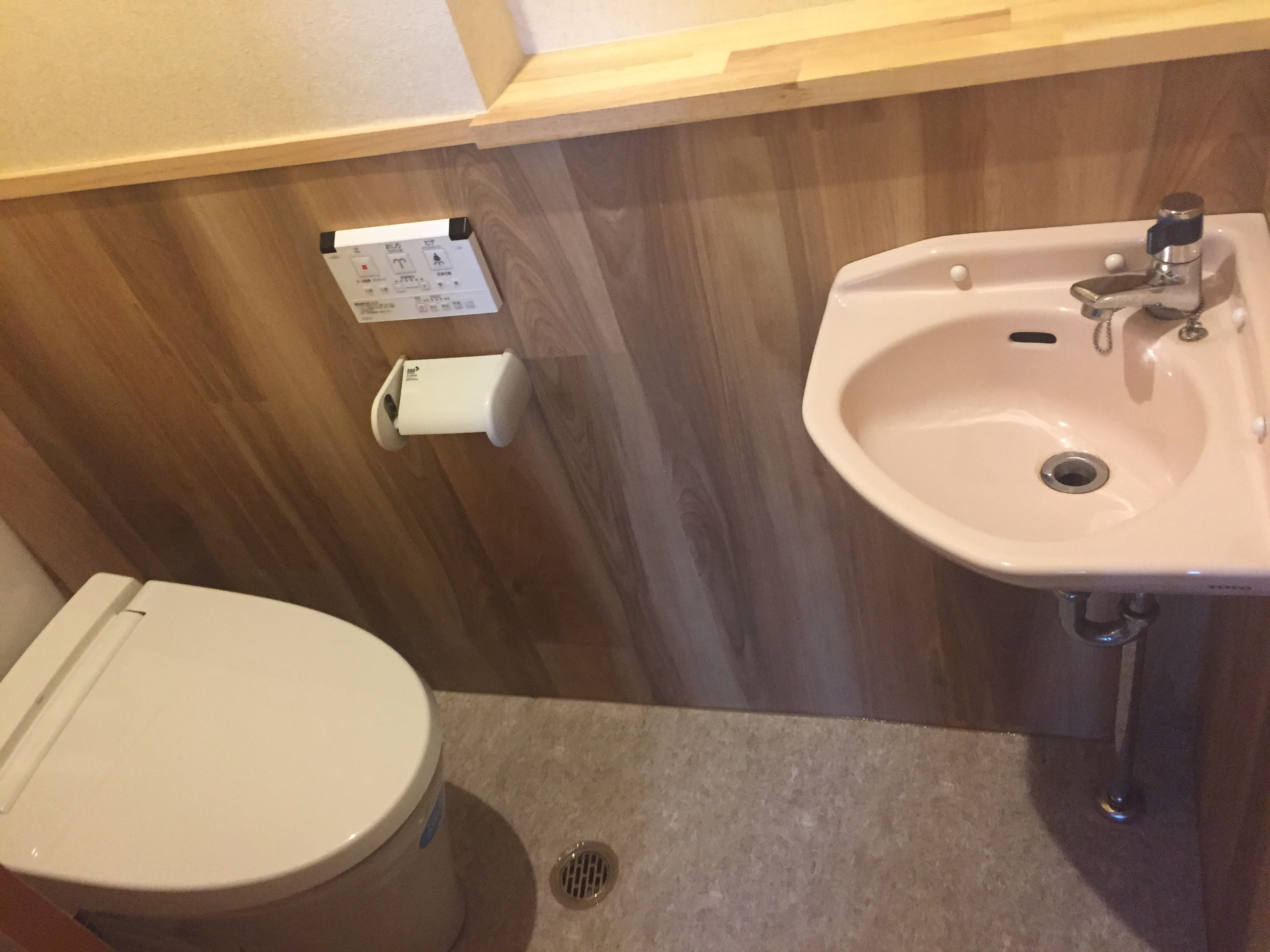西条市 和式トイレから洋式トイレにリフォーム 施工後2