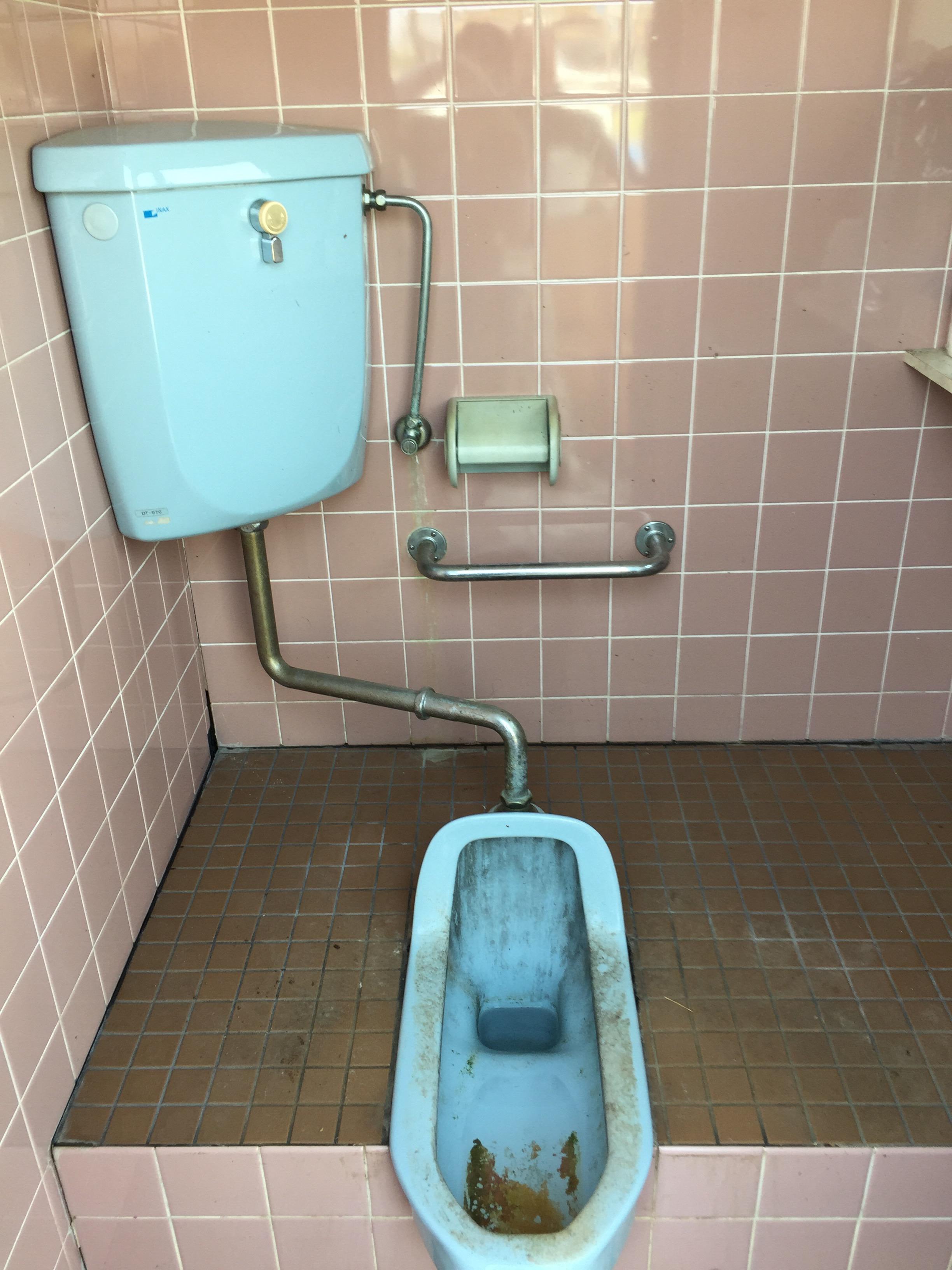 西条市 和式から洋式ウォシュレット付きトイレにリフォーム 施工前