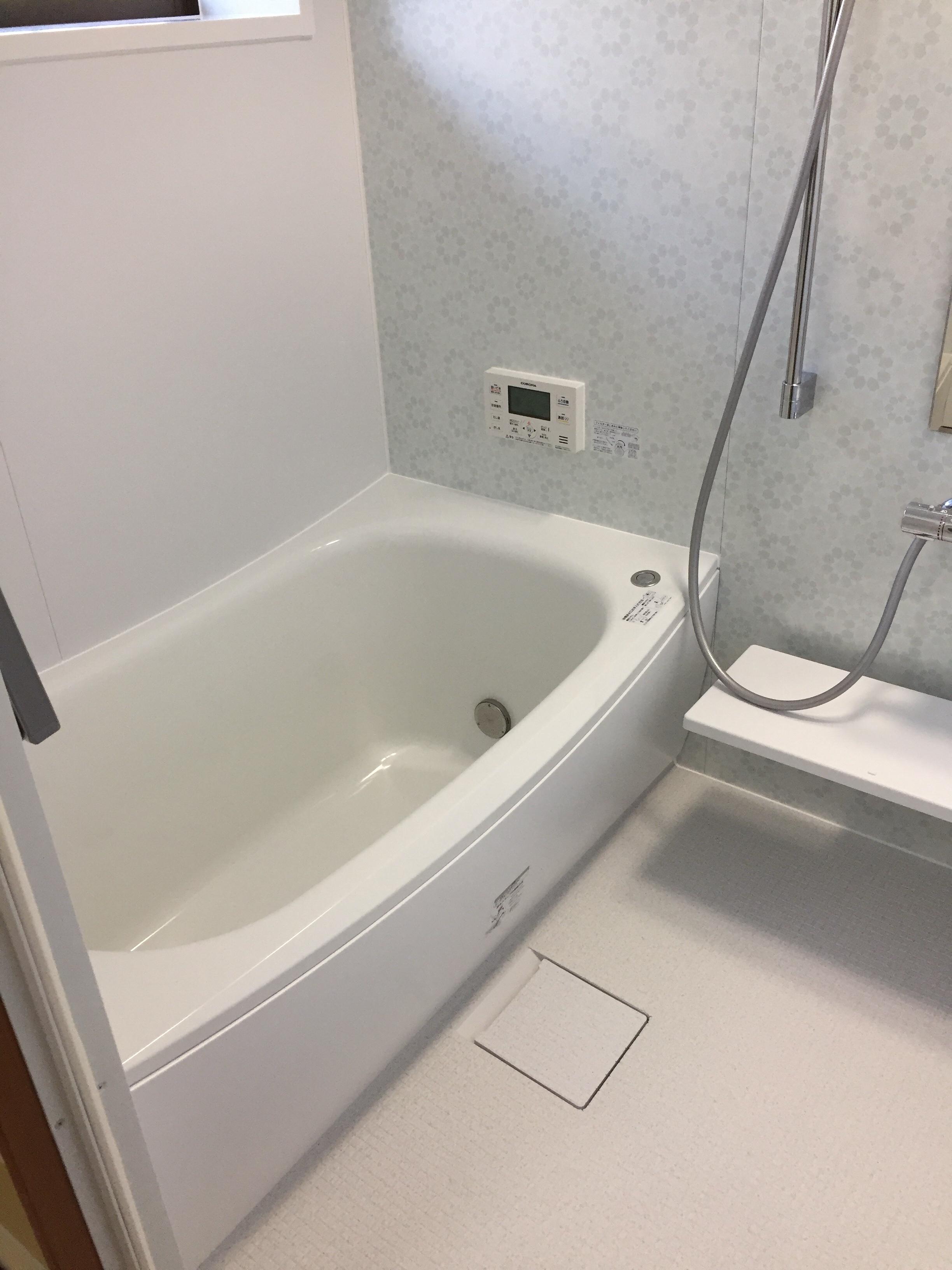 西条市S様邸お風呂リフォーム 施工後