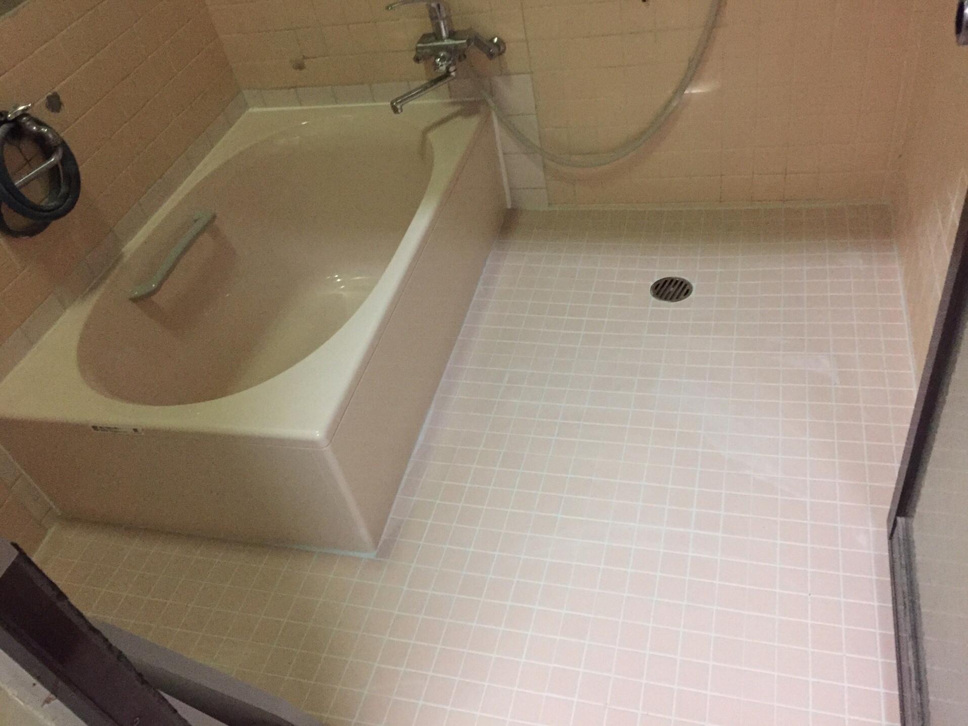 西条市T様邸浴槽入れ替え 施工後