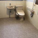 西条市K様邸トイレ床フロアシート工事