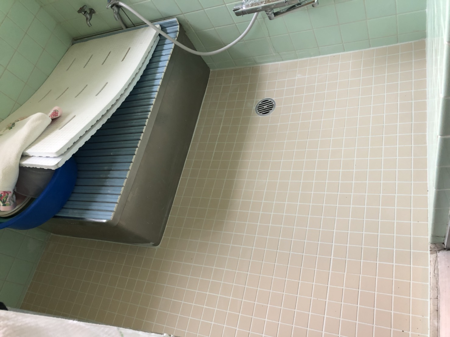 浴室タイル施工後