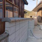塀の瓦工事